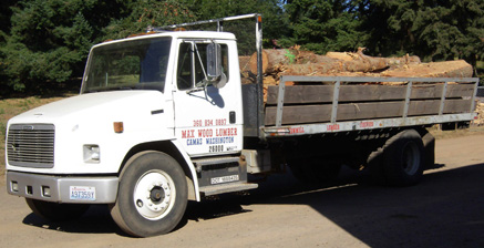 We can deliver firewood logs to your doorstep